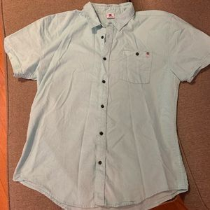 DC short sleeve button down shirt